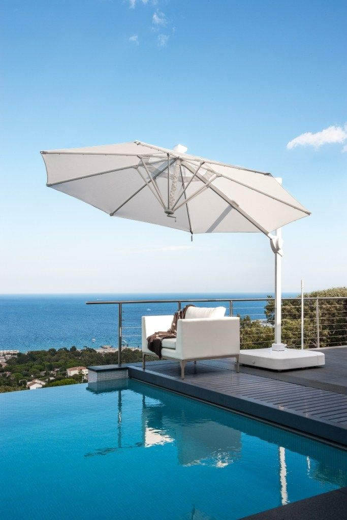 offset adjustable garden umbrella parasol 2 0 by talenti. Black Bedroom Furniture Sets. Home Design Ideas