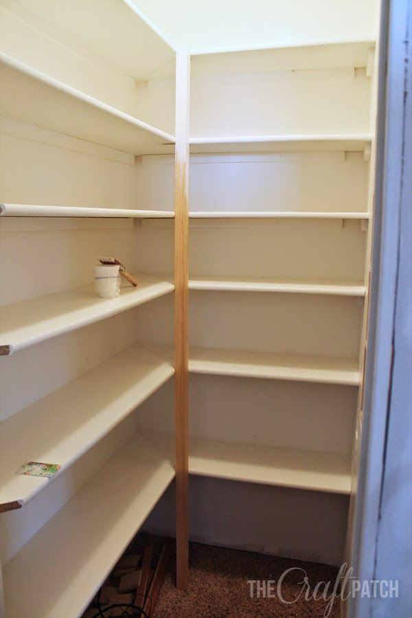 How To Build Pantry Shelving Pantry Shelves And