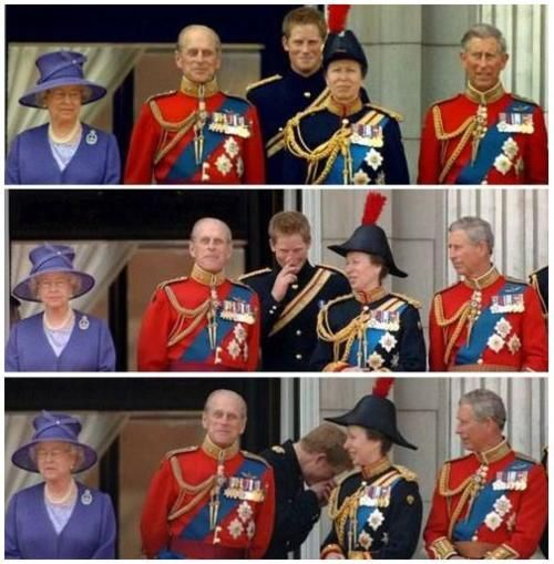 Prince Harry laughing. I loved <3