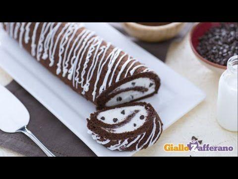 Ricetta Rotolo al cacao con crema al latte - La Ricetta di GialloZafferano