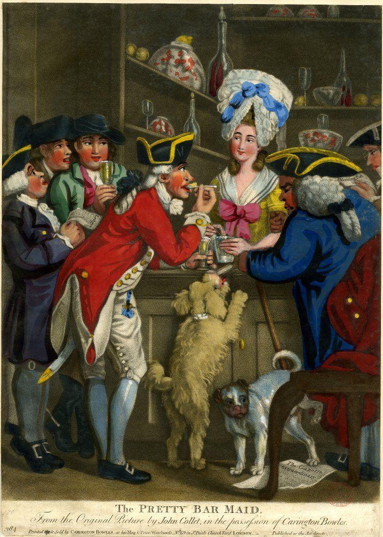 marinni   John Collet- 1725-1780. Картинки быта.