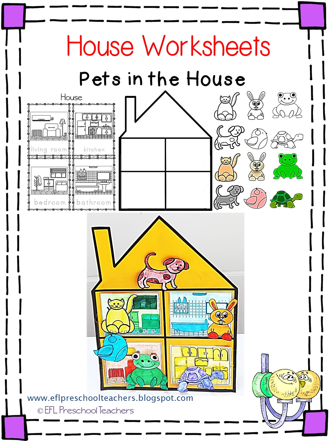 Esl House Unit Worksheets These Are Three Of Them The