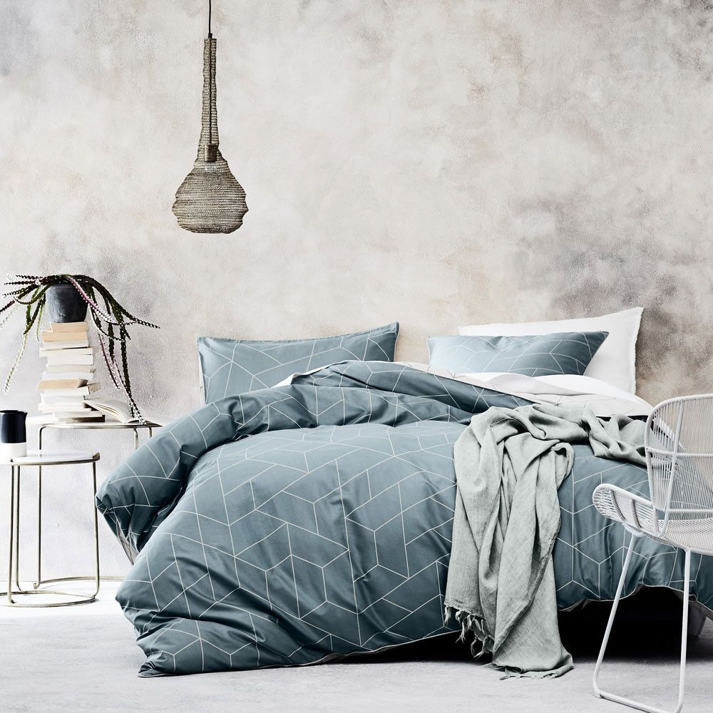 Duvet Cos.Cos Silver Blue Duvet Cover Set By Aura At Queenb Bedroom