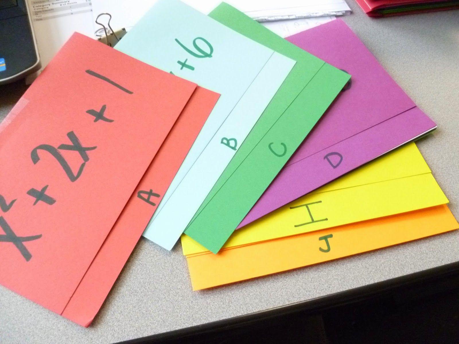 Scavenger Hunts and a free template! Teaching algebra