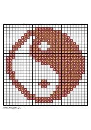 YinYang Cross Stitch Pattern