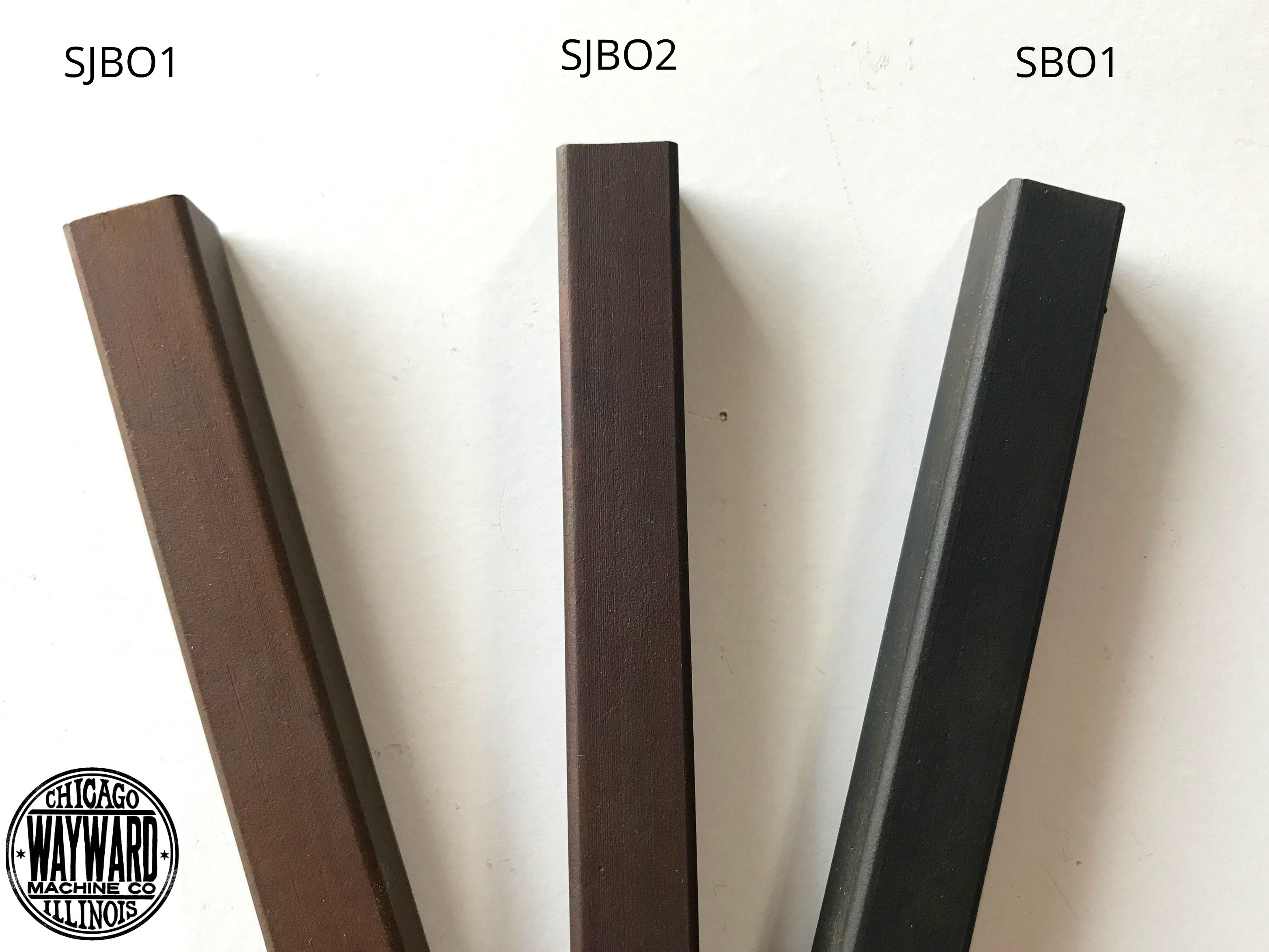 Japanese Brown Finish On Steel Blackened Steel Finish Wayward