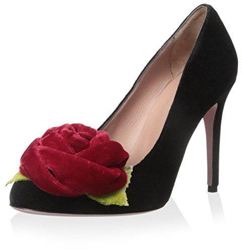 RED Valentino Women's Pump With Flower, Black, 36 M EU/6 ... https://www.amazon.com/dp/B0156EYRD0/ref=cm_sw_r_pi_dp_HvQBxb1Y2AGY2