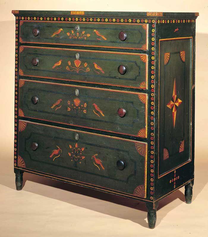 American Folk Art Painted Furniture