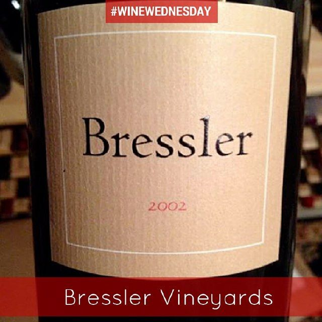 Did you know - Most of #BresslerVineyards' limited number of larger format bottles are used to raise money for charity. #WineWednesday by wydownhotel