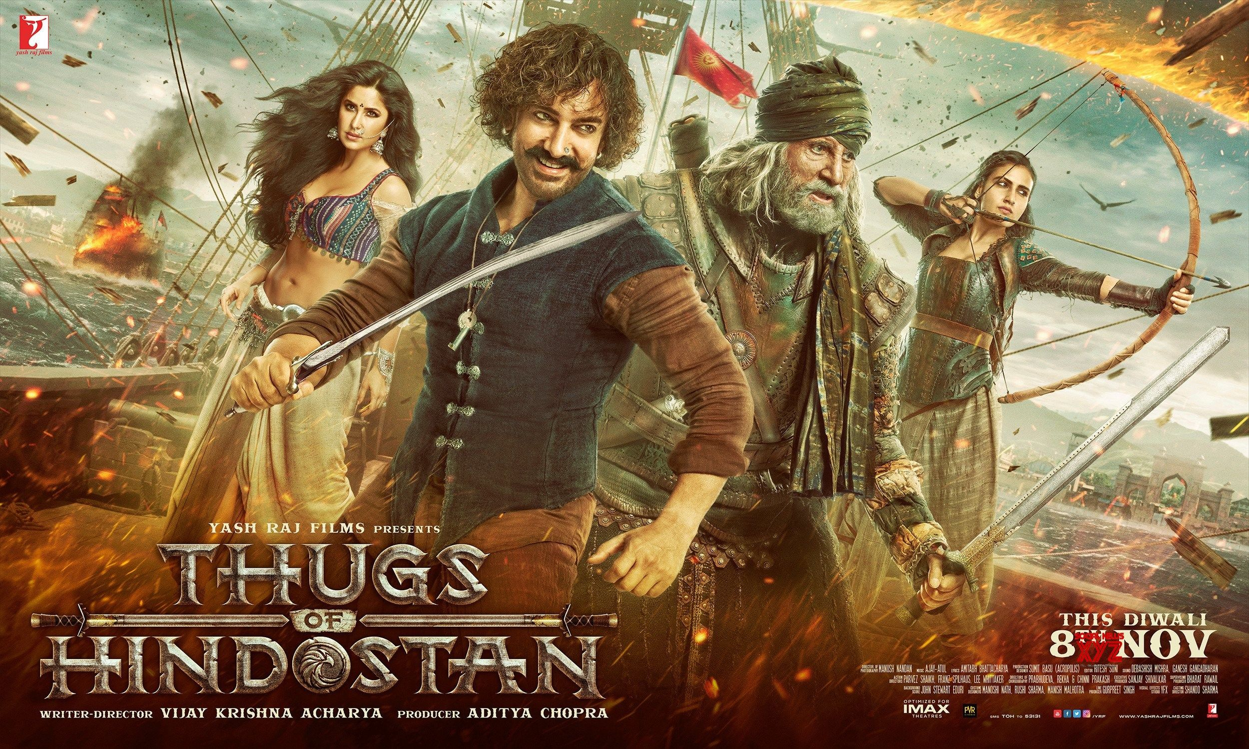 Thugs Of Hindostan Movie Hd Posters Social News Xyz Download Movies Full Movies Download Free Movie Downloads