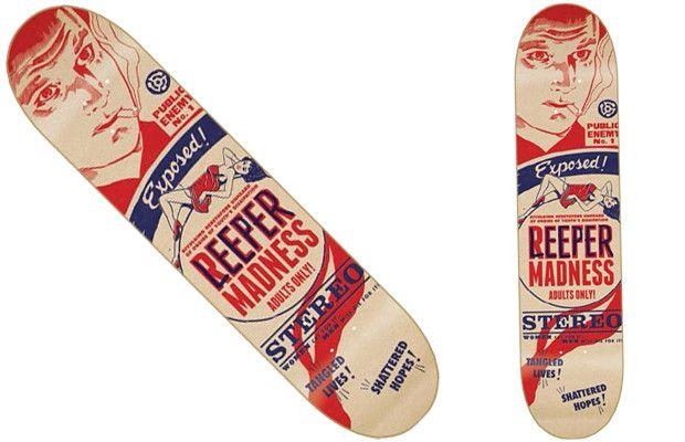 The 25 Best Skateboard Graphics of 201221  Lids - Chris