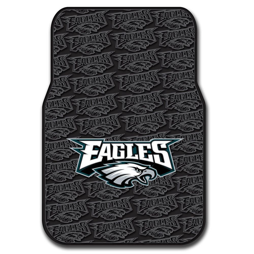 Philadelphia Eagles NFL Car Front Floor Mats (2 Front) (17x25)