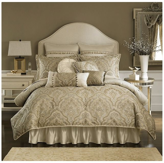 Croscill Coppelia Comforter Set   Full  Champagne    Home   home decor    bedding. Croscill Coppelia Comforter Set   Full  Champagne    Home   home