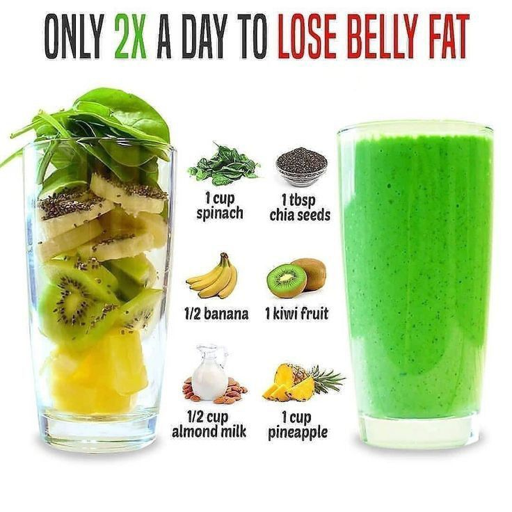 21 Days Smoothie Diet To Lose Belly Fat