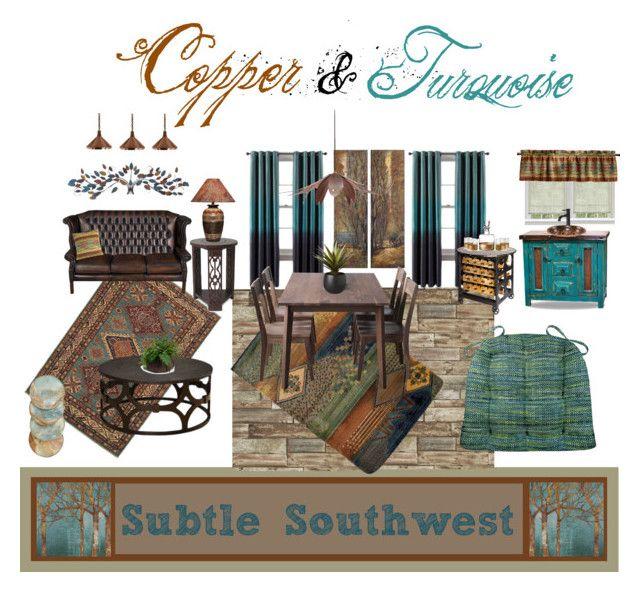Subtle Southwest Set Features Brisbane Teal Dining Chair