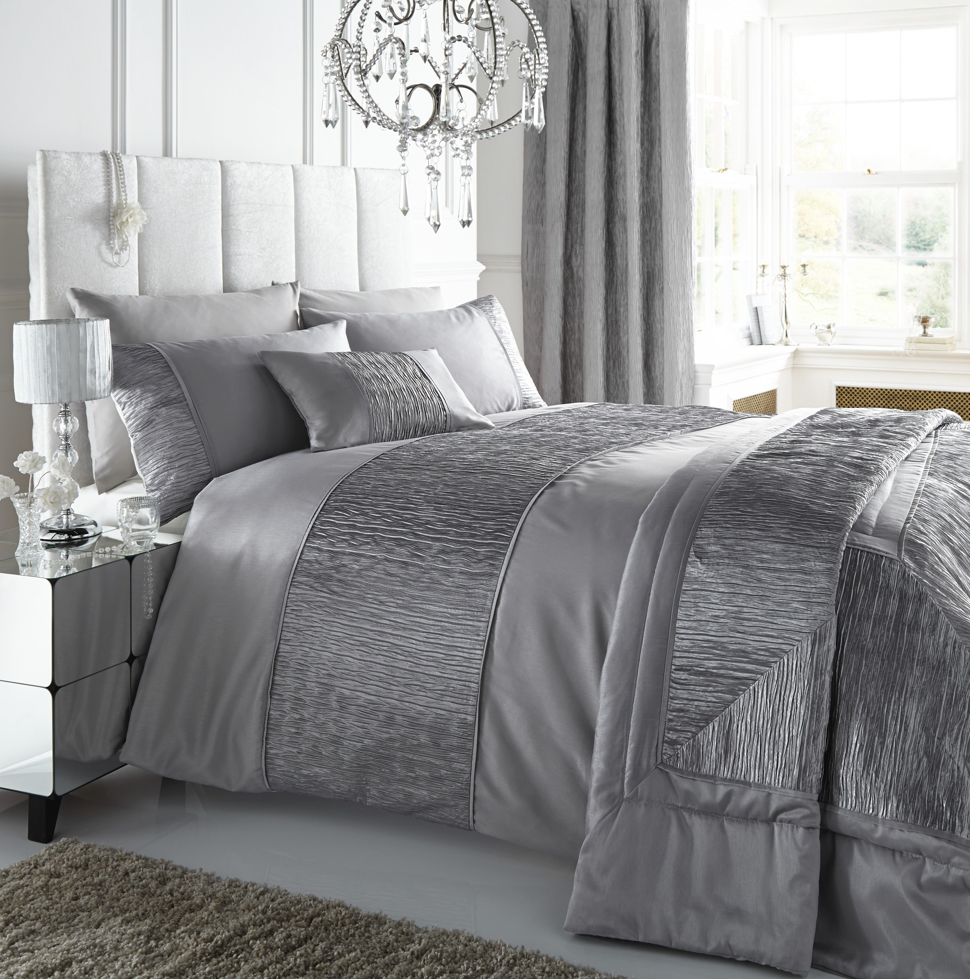 Sahara Silver Duvet Cover Set Double Home Pinterest