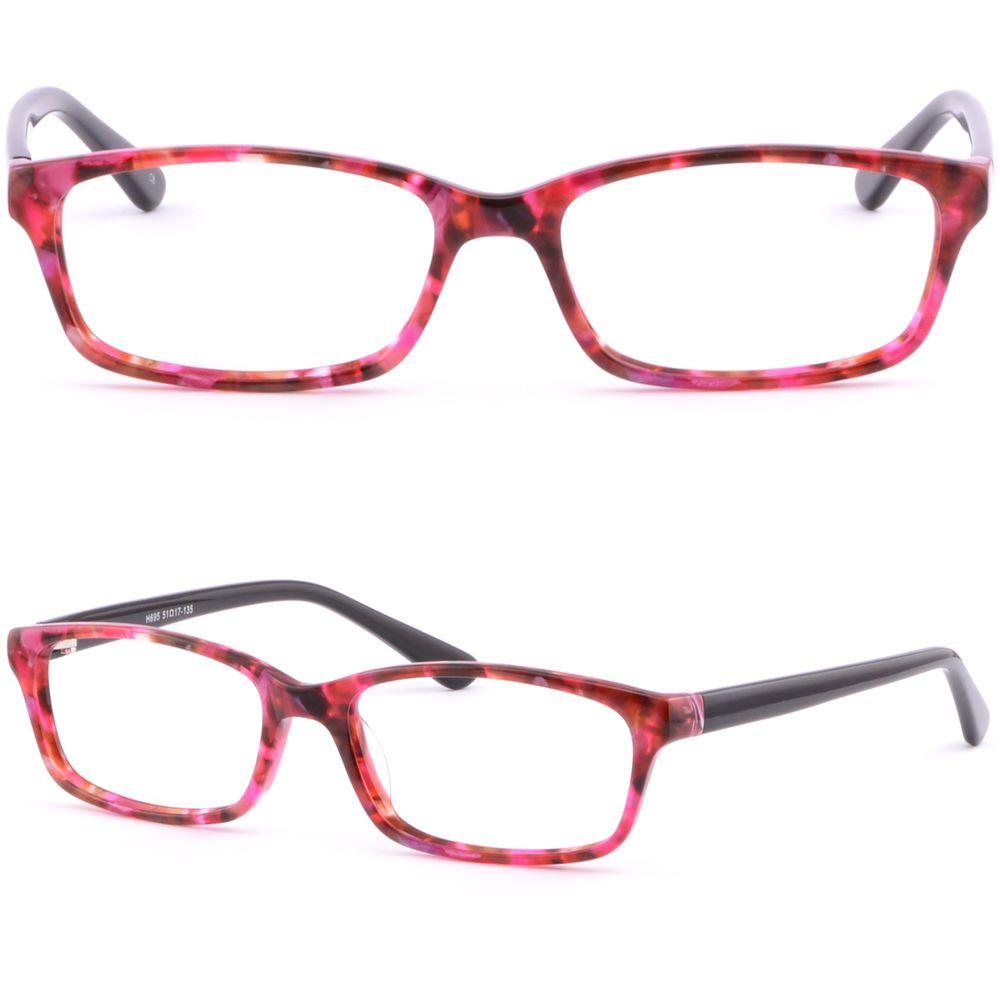d561ba6168e Eye Glasses · Sunglasses · Thin Light Plastic Acetate Frame Women Frame  Prescription Glasses Transition Red  Unbranded