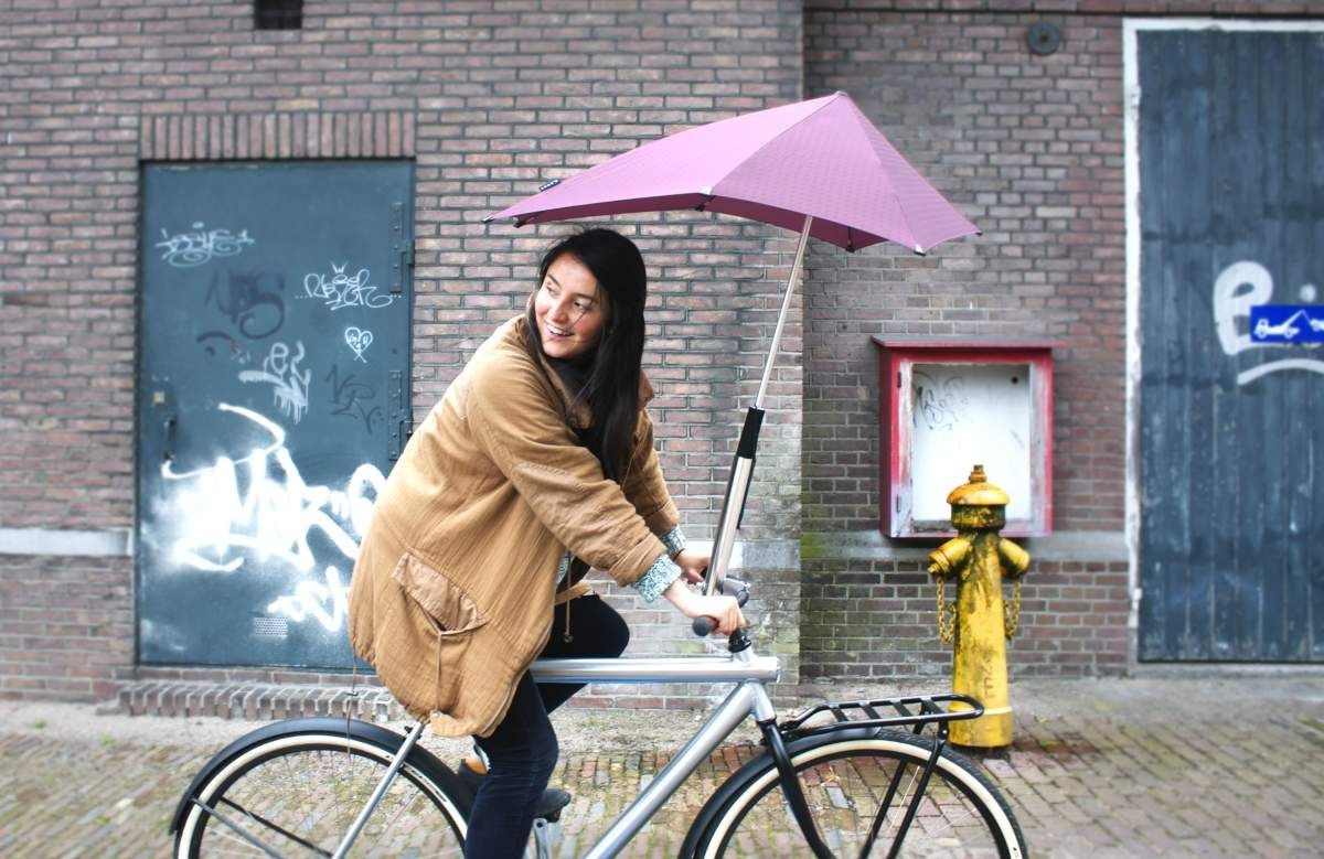 Bike To Work In The Rain Without Getting Drenched Umbrella