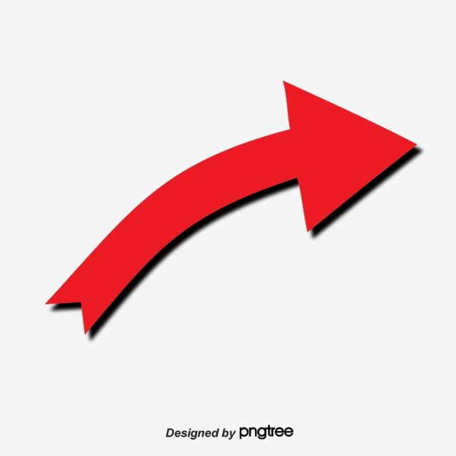 Red Arrow Pointing To The Right Red Clipart Direction Identification Png And Vector With Transparent Background For Free Download Arrow Illustration Red Arrow Blue Background Images