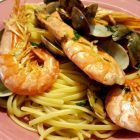 Photo of Linguine with clams and prawns Max's Recipes