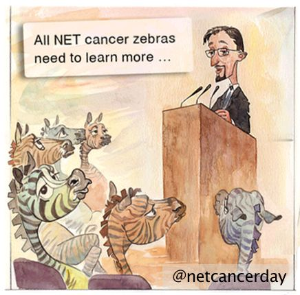 Learn more. Knowledge is power, also when it comes to neuroendocrine cancer. Learn more about Your NET. Ask your doctors where you can learn more about your cancer, research the internet, contact support groups... Visit our website at http://netcancerday.org/
