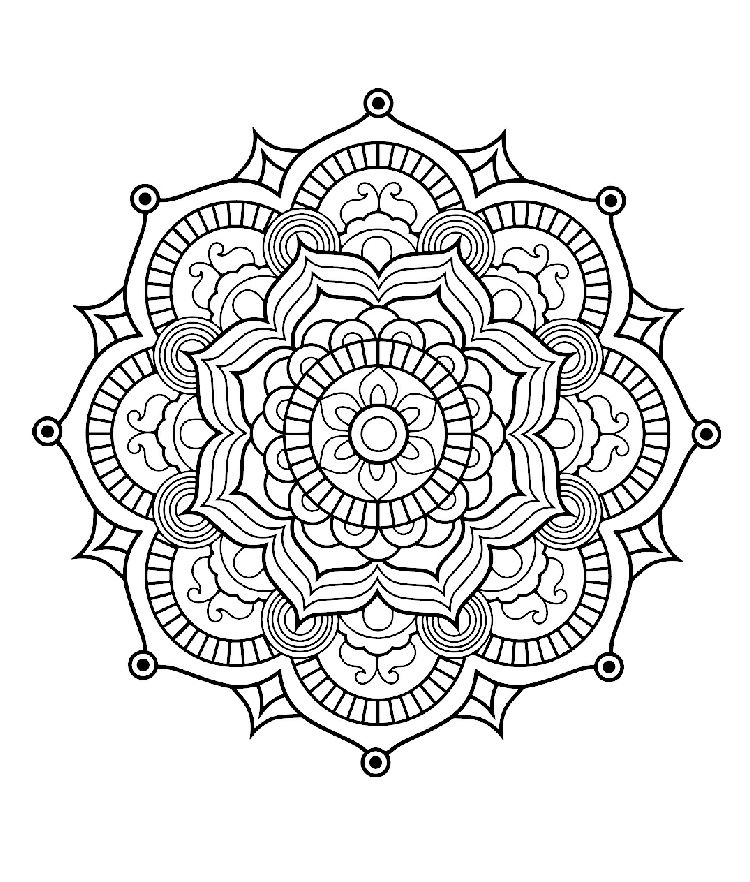 Pin by chris warrick on Coloring Pages | Pinterest | Mandala ...