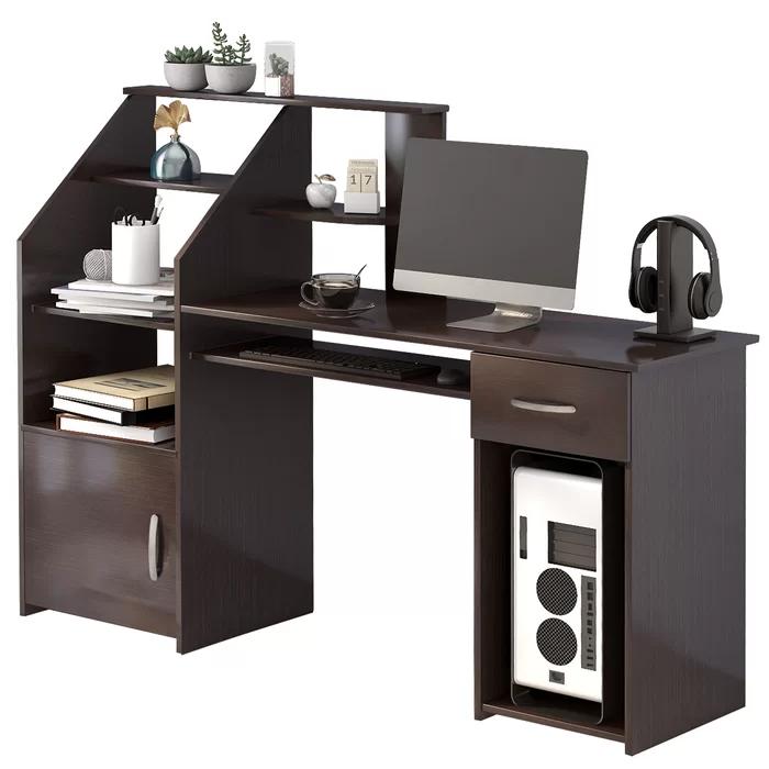 Anas Computer Desk In 2020 Desk Desk Storage Office Desk