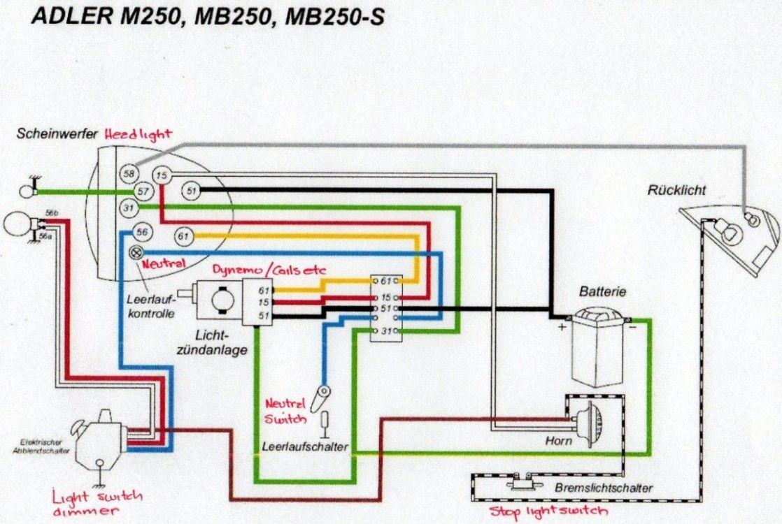 Wiring Diagram Of Yamaha Rs 100