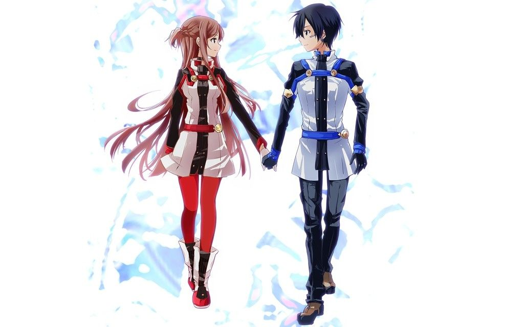 Anime Couple Sao Sword Art Online Wallpaper In 2020 Sword Art Online Movie Sword Art Online Asuna Sword Art Online Wallpaper