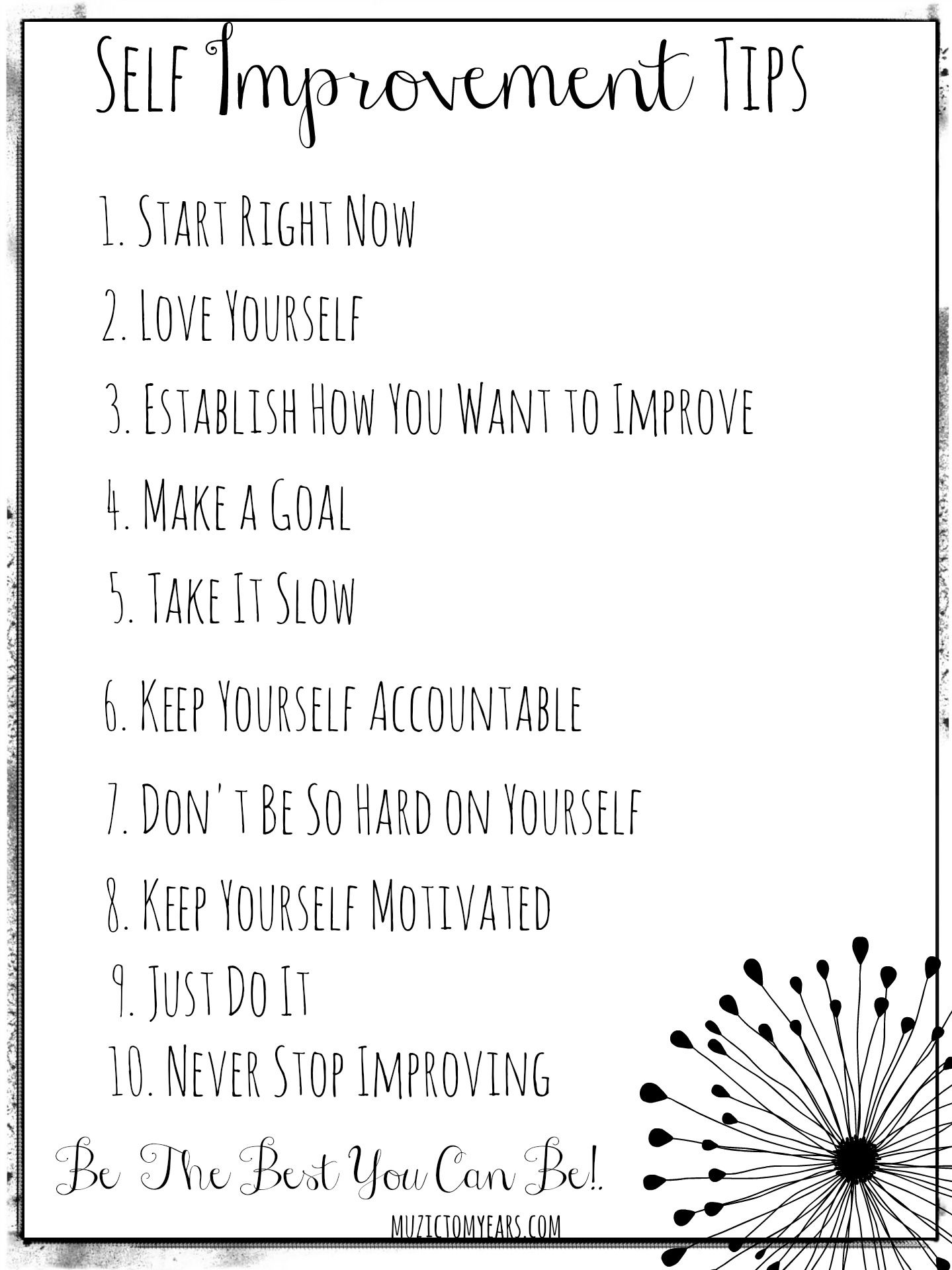 10 Of The Best Self Improvement Tips With Images