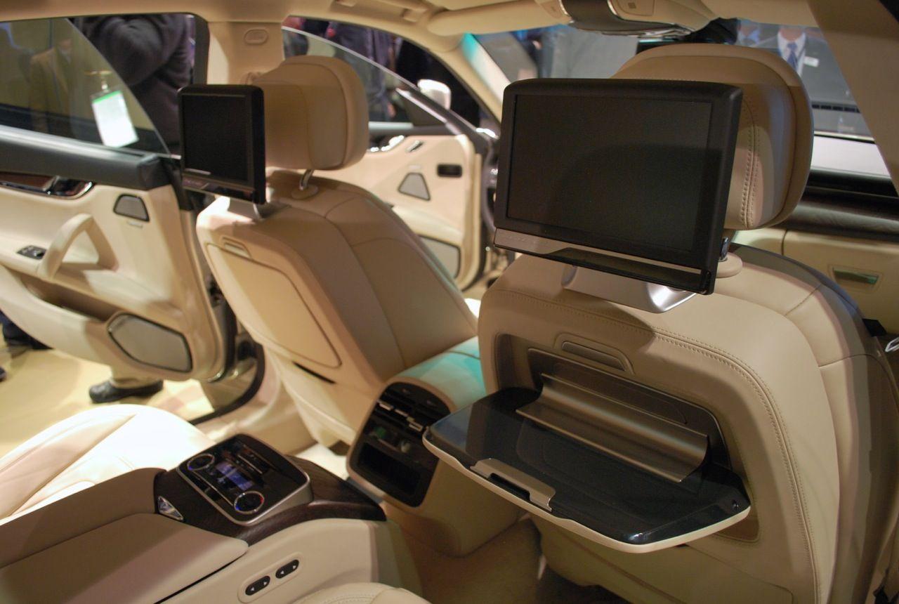 Car interior entertainment - Luxury Vehicle