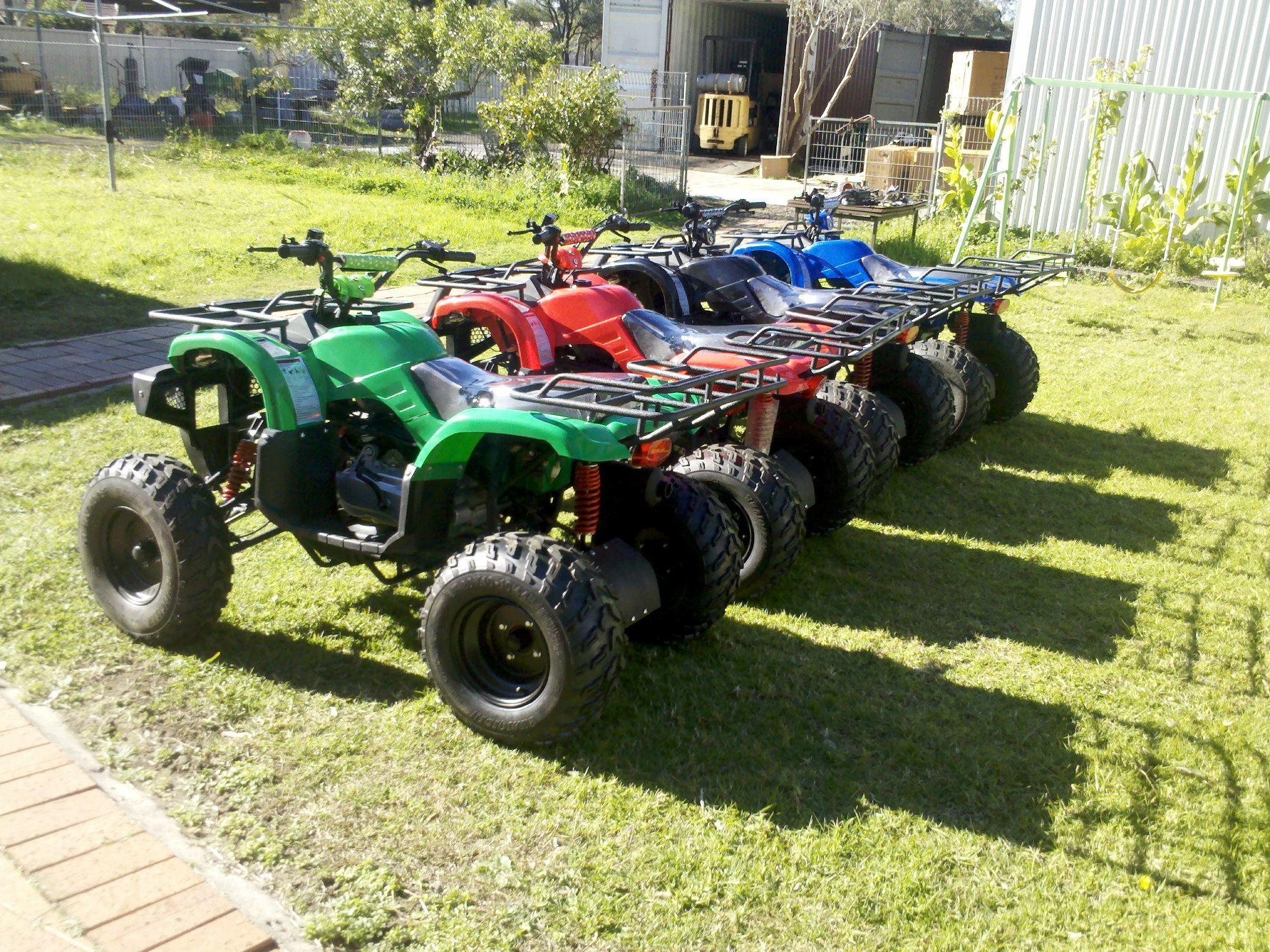 250cc Automatic Quads Gy6 Engine Ekectric And Kick Start Atv