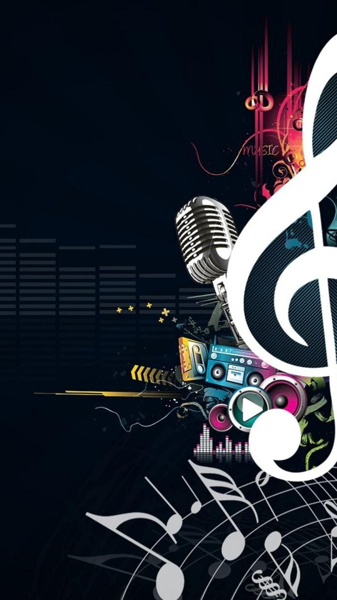 Cool Wallpaper High Resolution Hupages Download Iphone Wallpapers Iphone Wallpaper Music Music Wallpaper Music Artwork