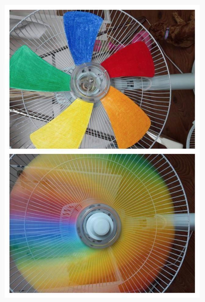 rainbow fan, sí que lo voy a hacer