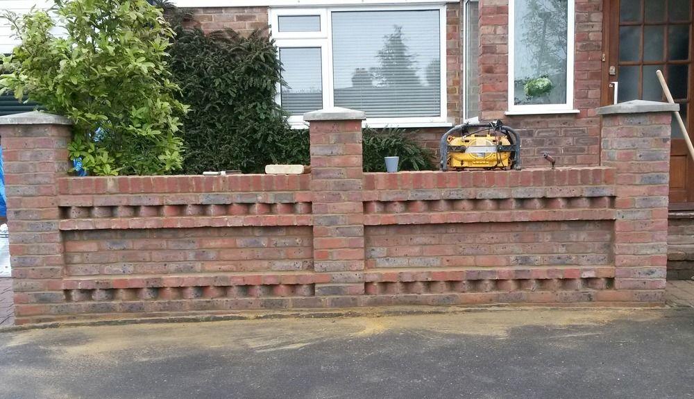 Brick Wall Cap Google Search Garden Wall Designs Brick Garden