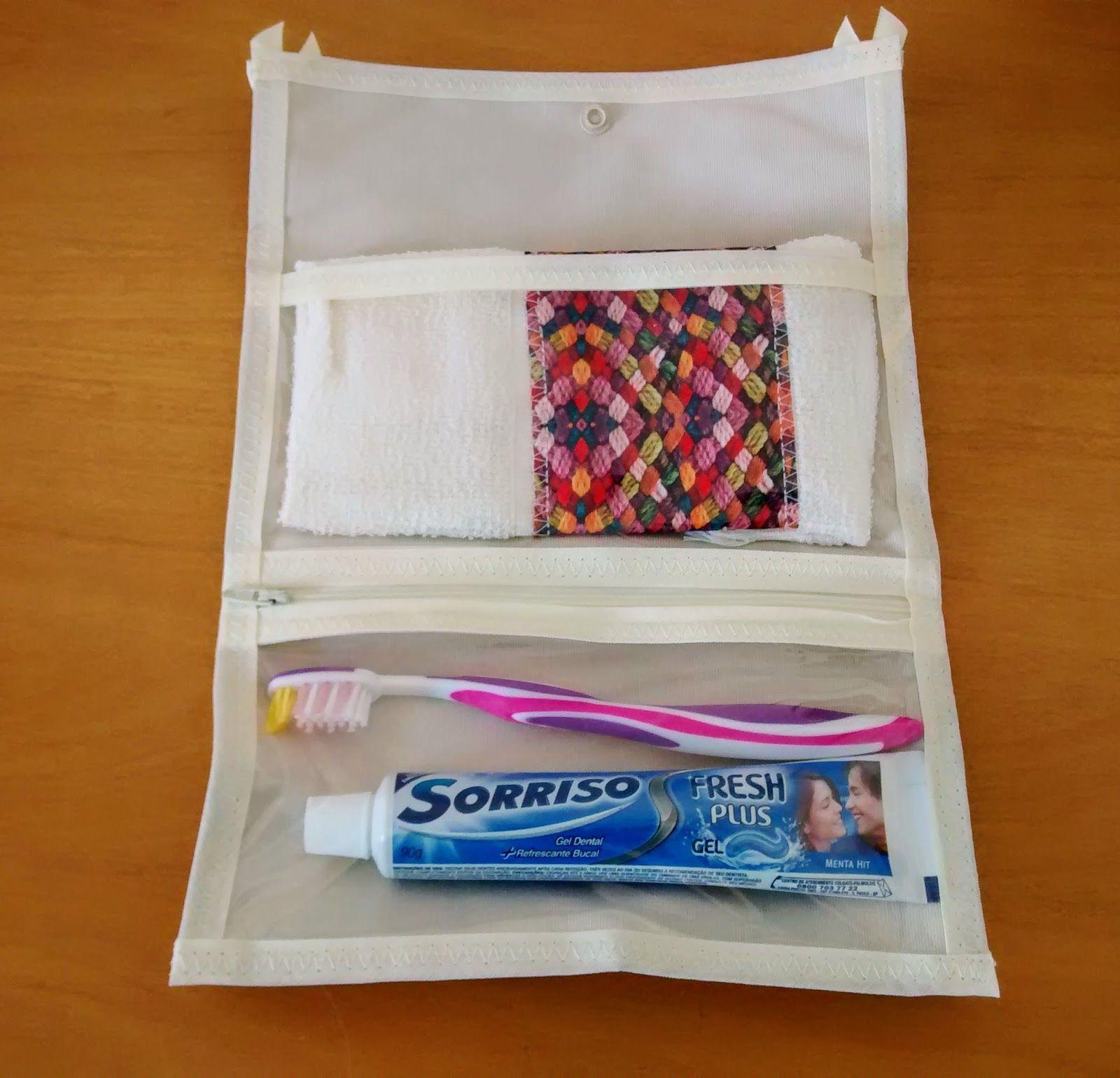 b57c1dd1b Kit higiene bucal Ideal para carregar dentro da bolsa