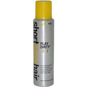 Short sexy hair spray wax