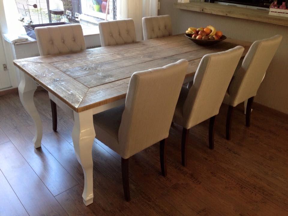 Oldambt meubels ~ Tafel afgeleverd bij een tevreden klant oldambt meubelen