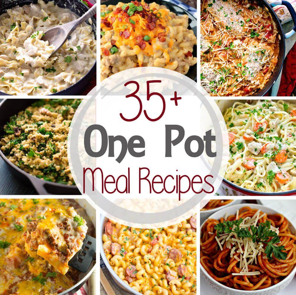 35+ One Pot Meal Recipes (Julie's Eats & Treats)