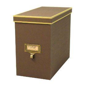 Genial Hanging File Storage Box