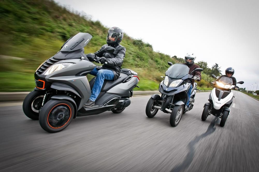 3 wheel scooter rumble::
