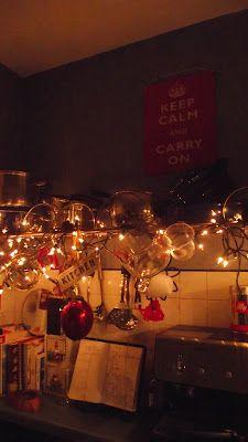 Fairy lights. Kitchen & Fairy lights. Kitchen | Free styling | Pinterest | Kitchens Lights ...