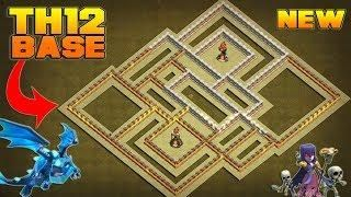 Top Five Town Hall 12 Clash Of Clans War Base - Circus
