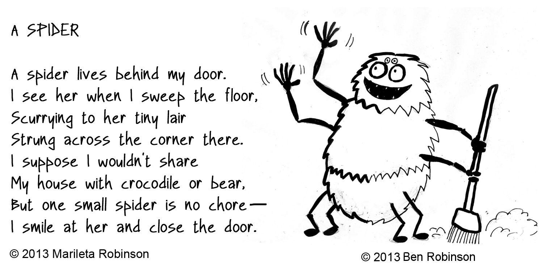 Image result for spider poem | Rhyme scheme, Spider poem ...