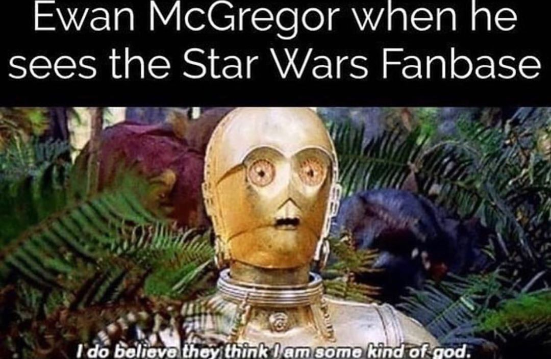 8 Likes 1 Comments The Star Wars Page Starwarspg On Instagram Kenobi Show Will Be Here Before You Know Star Wars Facts Star Wars Humor Star Wars Memes