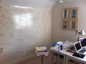 home office whiteboard. Office Spaces, Home Office, Whiteboard, Garden Room, The Wall, Erase Board, Professional Development, Offices Whiteboard B