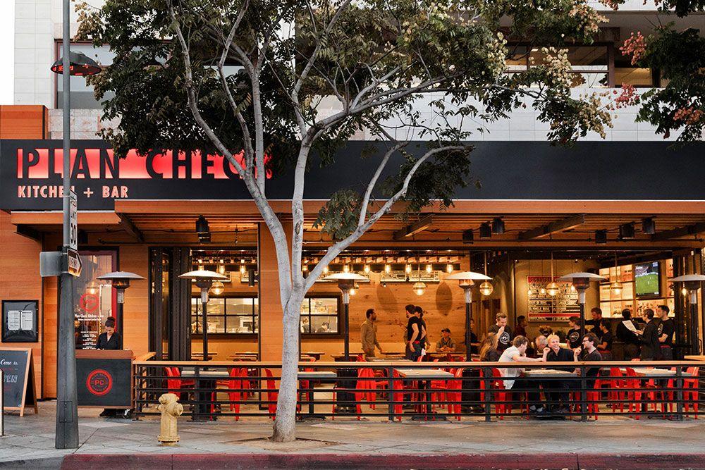 Plan Check Kitchen Bar Santa Monica Menu And Location Info Commercial Architecture Restaurant Plan Kitchen Pictures