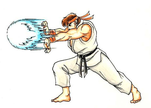 Ryu Is My Favorite Hadouken Dibujos Dibujos De Anime