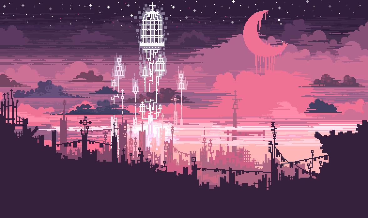 0v0 pixel art 8bit character design world building fantasy scifi