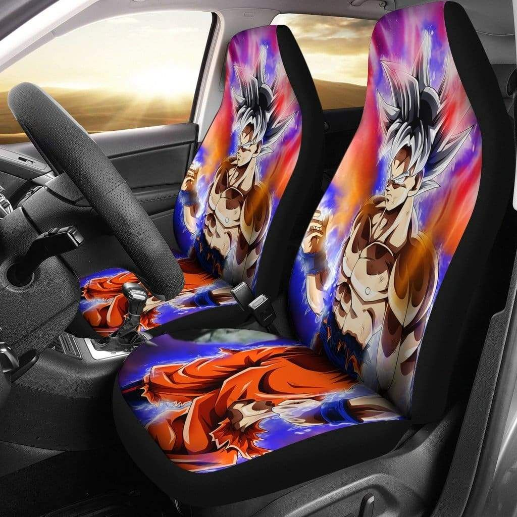 Goku mastered ultra instinct car seat covers seat covers
